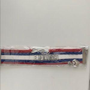Love Puerto Rico bracelet